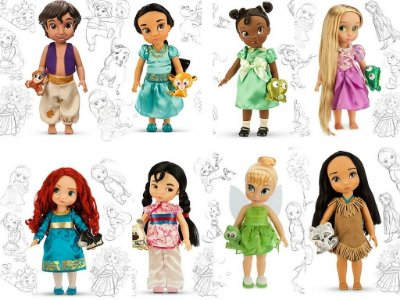Boneca Disney Animators Collection Disney Store