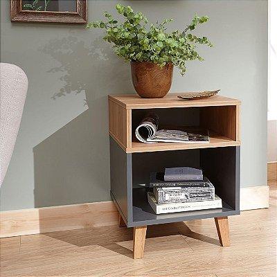 Mesa Lateral - Decoração Simples e Bonita - Escolha a cor