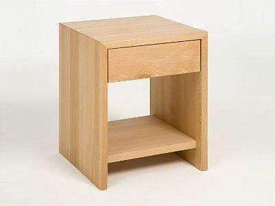 Mesa de Cabeceira de chão com uma gaveta - 100% MDF - Opção de cores