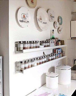 Prateleiras Para Temperos - Decore e Organize sua Cozinha! - Você Escolhe a Cor