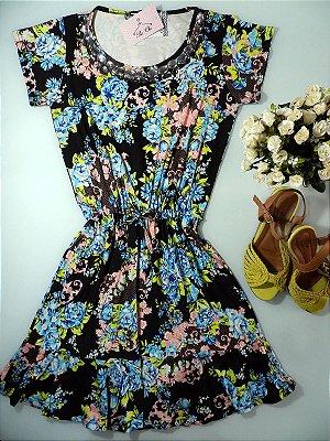 Vestido Floral [ Perto ] Bordado