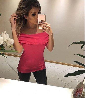 Blusa Ombro a Ombro || PINK - ROSA [ Ciganinha ]