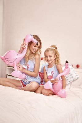 Short Doll | Pijama Regata - Flamingo [ PINK Is My Happy Colour ] Pompom