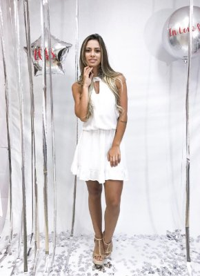 Vestido New Year | Branco