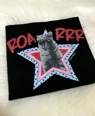 T-shirt Gato Estrela - Cor: Preta | Petit Rosè