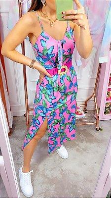 Vestido Candice Midi Floral | Petit Rosè