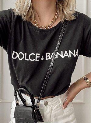T-shirt Preta Dolce & Banana