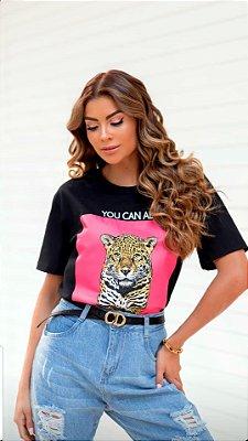 T-shirt Tigre Manga Curta | Diversas Cores