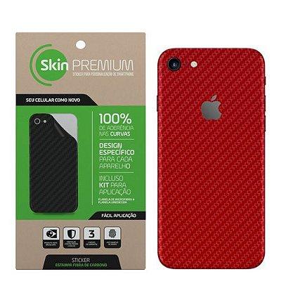 SKIN PREMIUM IPHONE 7 VERMELHO