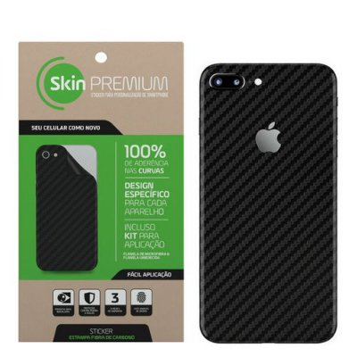 SKIN PREMIUM IPHONE 7 PLUS PRETO