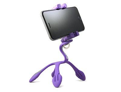 GekkoPod para Celular e Câmera Fotográfica Roxo- Zuckerim