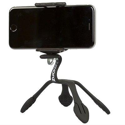 GekkoPod para Celular e Câmera Fotográfica Preto Zuckerim + um controle bluetooth  de brinde BASICO