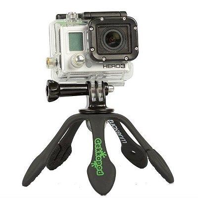 GekkoPod para GoPro e Câmera Fotográfica Preto - Zuckerim
