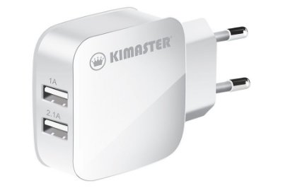 Kit Carregador com 2 USB + Cabo Lightning 2A - KT605