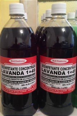 Desinfetante  Concentrado 1/49 Lavanda