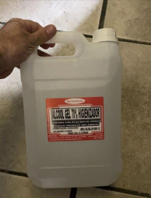 Álcool Gel 70% Higienizador 5 litros