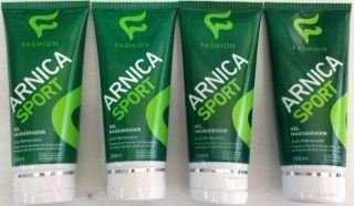 Gel massageador arnica sport 200ml ( 4 unidades )
