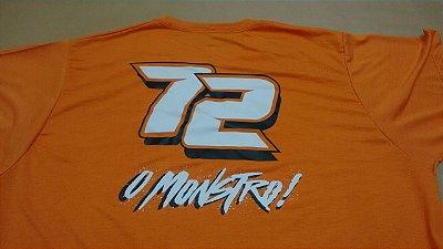 NOVA Camiseta 72 - COR LARANJA