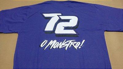 NOVA Camiseta 72 - COR AZUL