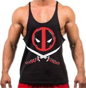 Camiseta Regata Cavada Deadpool