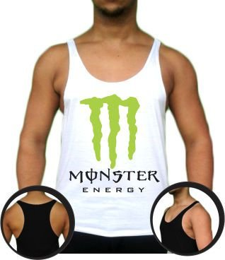 Camiseta Regata Tank Top Monster Energy