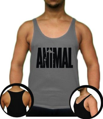 Camiseta Regata Tank Top Animal