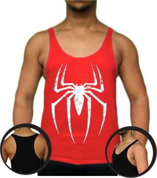 Regata Cavada Tank Top Spider (médio cavada)