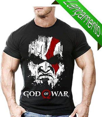 Camiseta Para Malhar Kratos