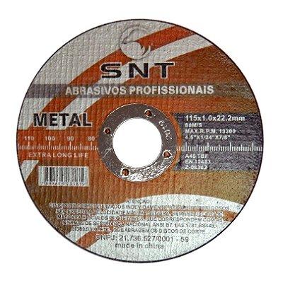 Disco de corte - 115 X 1.0 X 22.22