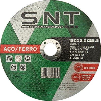 Disco de corte - Aço/Ferro 180 X 3.0 X 22.22