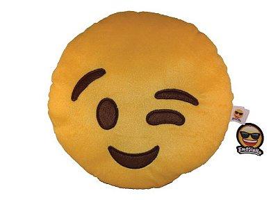 Emoji Piscadinha Feliz