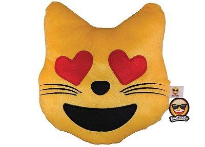 Emoji Gato Apaixonado
