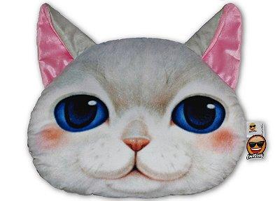 Almofada Pet Gato - Branco