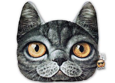 Almofada Pet Gato - Cinza