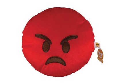 Emoji Bravo Vermelho