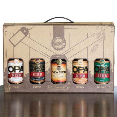 Kit Opa Bier 5 Cervejas 600ml