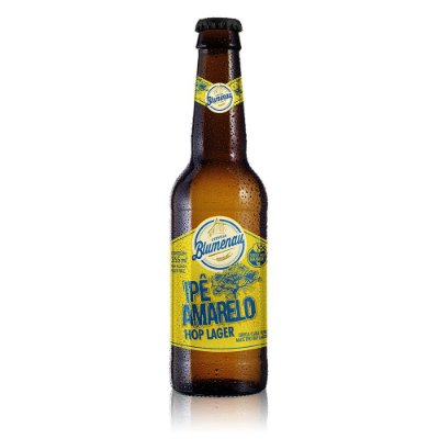 Cerveja Blumenau IpÊ Amarelo Hop Lager Long Neck 355ml