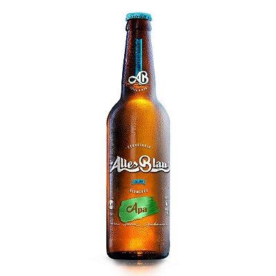 Cerveja Artesanal Alles Blau Apa 355ml