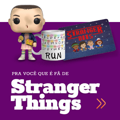 presentes para fãs de stranger things, funko stranger things, caneca stranger things