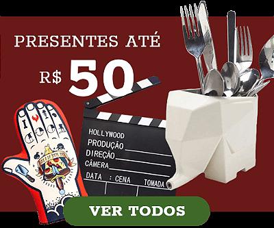 presentes criativos natal, presentes ate 50 reais