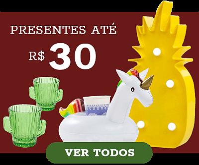 presentes criativos natal, presentes ate 30 reais
