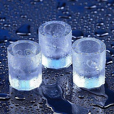 Copos de Gelo - Forma de Silicone
