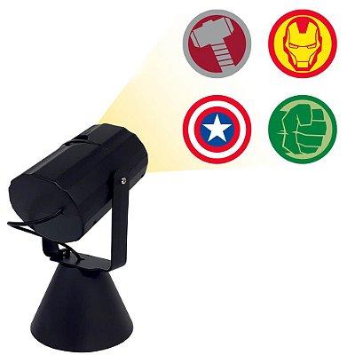 Luminária Projetor - Heróis Marvel