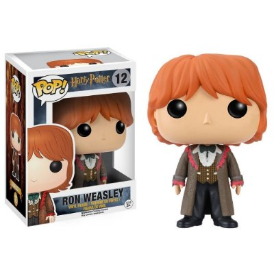 Ron Weasley - Baile Tribruxo - Harry Potter - Funko Pop