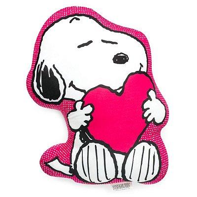 Almofada Snoopy Apaixonado