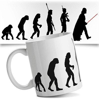 Caneca Darth Vader - Evolução Geek