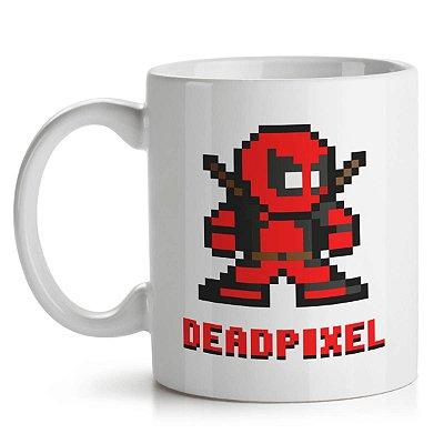 Caneca DeadPool Pixel