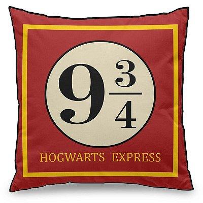 Almofada Expresso de Hogwarts - Plataforma 9 ¾