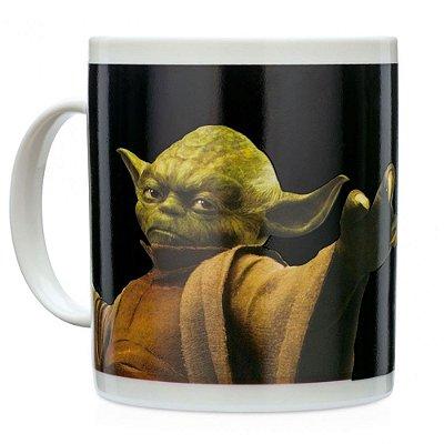 Caneca Mágica Termossensível Mestre Yoda - Star Wars