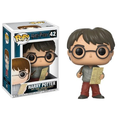 Harry Potter com Mapa Maroto - Funko Pop
